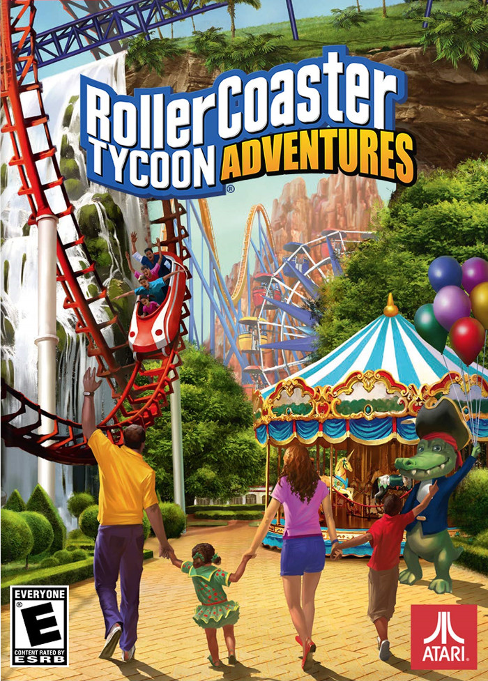 RollerCoaster Tycoon Adventures Download Full Version PC - NewRelases